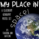 My Place in Space Geography Poster Set