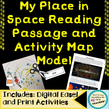 Make a Model of Your Place in Space Printable Activity Worksheet