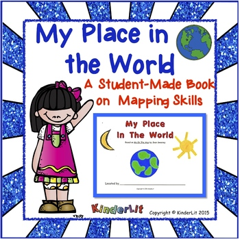 My Place in the World Mapping Skills Collage Book