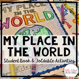"""My Place in the World Book - """"Me on the Map"""""""