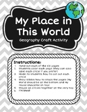 My Place in the World Craft Activity