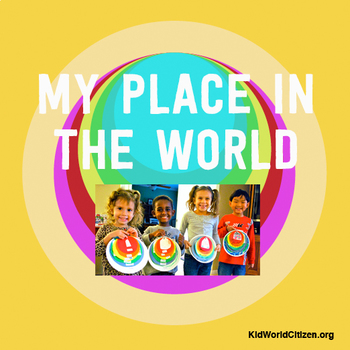 """My Place in the World Project: """"Me on the Map"""" Geography for Kids"""