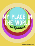 "My Place in the World Project: ""Me on the Map"" Geography for Kids in Spanish"