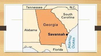 My Place on the Map (Savannah, GA)