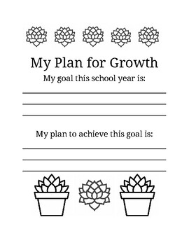 My Plan for Growth