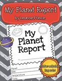 My Planet Report! {Science Flap Reports}