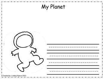 My Planet - Writing & Illustrating