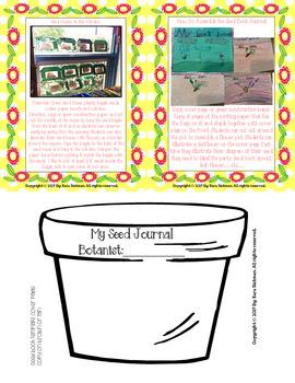My Plant Investigation Journal: Grades 1-3