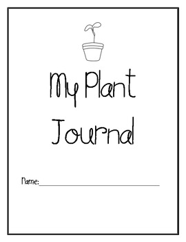 My Plant Journal - Bean & Pea Plant Exploration
