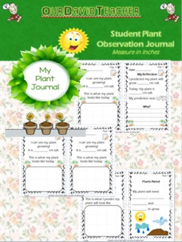 My Plant Journal Recorder & Reflection {*cm}