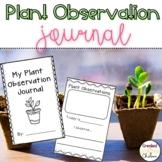 My Plant Observation Journal