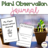 My Plant Observation Journal