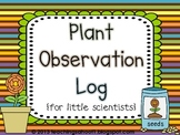 My Plant Observation Log