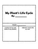 My Plant's Life Cycle Mini-Book