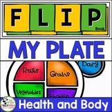 My Plate FLIP Book {Balanced Healthy Eating} Sample FREEBIE