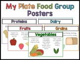My Plate Food Group Posters