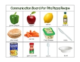 My Plate: Pitta Pizza Recipe Communication Board