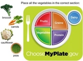 My Plate Smart Board Activities and Quizzes
