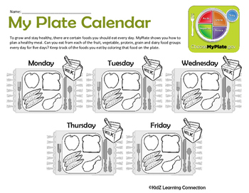 My Plate: Tracking the Food I Eat