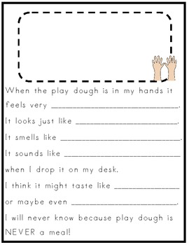 My Play Dough Draw and Write Book