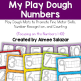 Play Dough Number Mats 1-10
