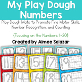 Play Dough Number Mats (11-20)