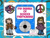 My Playlist of School Memories {iPod Shaped Printable Memory Booklet}