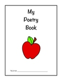 My Poetry Book - A Collection of Nursery Rhymes