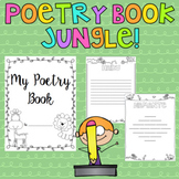 Poetry Writing Book - Jungle Themed