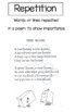 """Poetry Packet  """"How to read and understand poetry"""""""