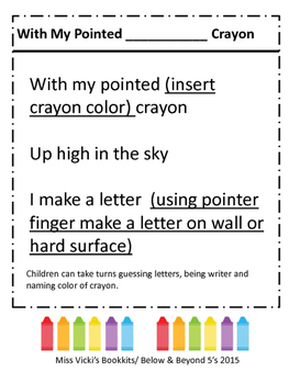 My Pointed Crayon Game