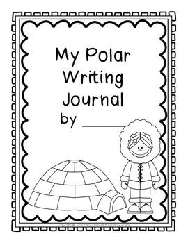 My Polar Journal {K-2 Writing Journal}