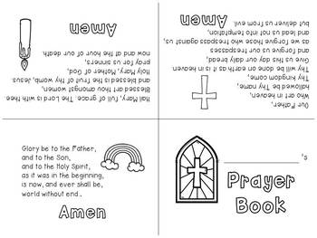 My Prayer Book-Foldable