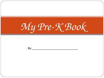 My Pre-K Book