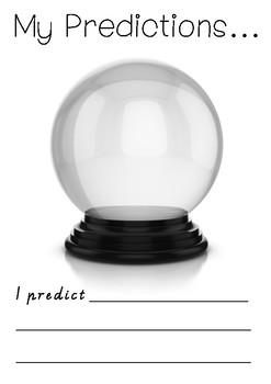 My Predictions - Foundation level - Comprehension Strategies