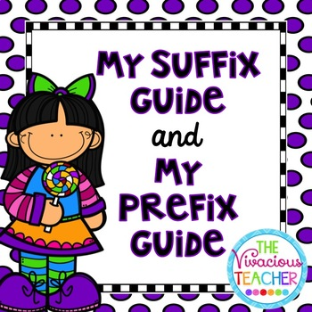 Prefixes and Suffixes Bundle ~ Student Made Guides/Books