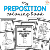 My Prepositions Coloring Book