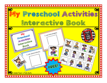 My Preschool Activities - Interactive Book