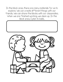 My Preschool Classroom Coloring Book: Rules, Centers, and ...