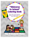 My Preschool Classroom Coloring Book: Rules, Centers, and