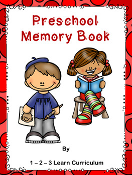 My Preschool Memory Book