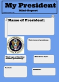 My President Mini Biography Poster Project