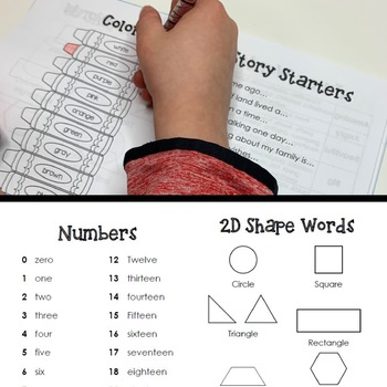 Student Dictionary Reading Writing Math Resource