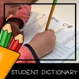 Student Dictionary: Reading and Writing Resource