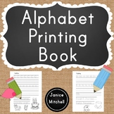 My Alphabet Printing Book For Grades K to 1