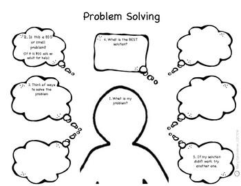 My Problem Solving Graphic Organizer
