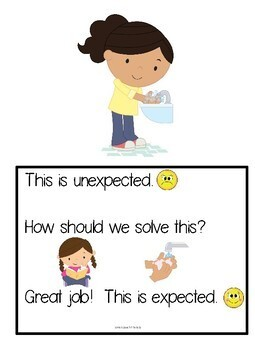 My Problem and Solution Book & Worksheets - Expected/Unexpected - NO VELCRO