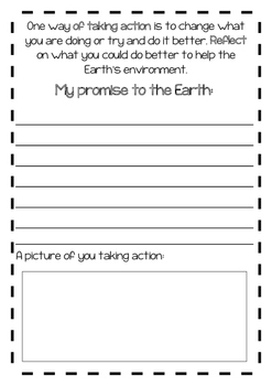 My Promise to the Earth - Taking Action
