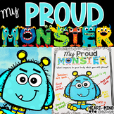 My Proud Monster, an identifying emotions activity.