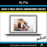 My Public Service Announcement Podcast: Let Your Voice Be
